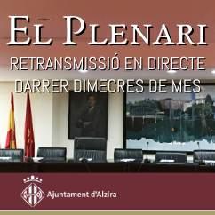 plenari - Alzira Radio notícies d'Alzira