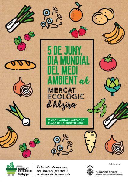 cartell mercat eco dia medi ambient41184 - Alzira Radio notícies d'Alzira