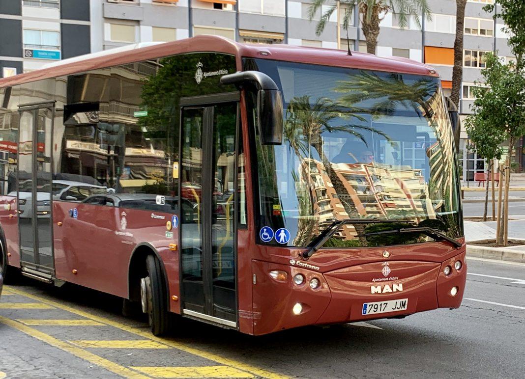 Autobús urbà alzira - Alzira Radio notícies d'Alzira