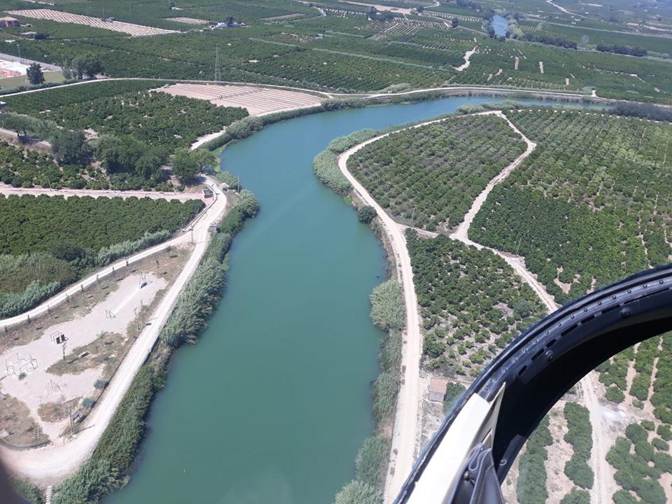 Mosquit tigre tractament Xúquer vista aèria - Alzira Radio notícies d'Alzira
