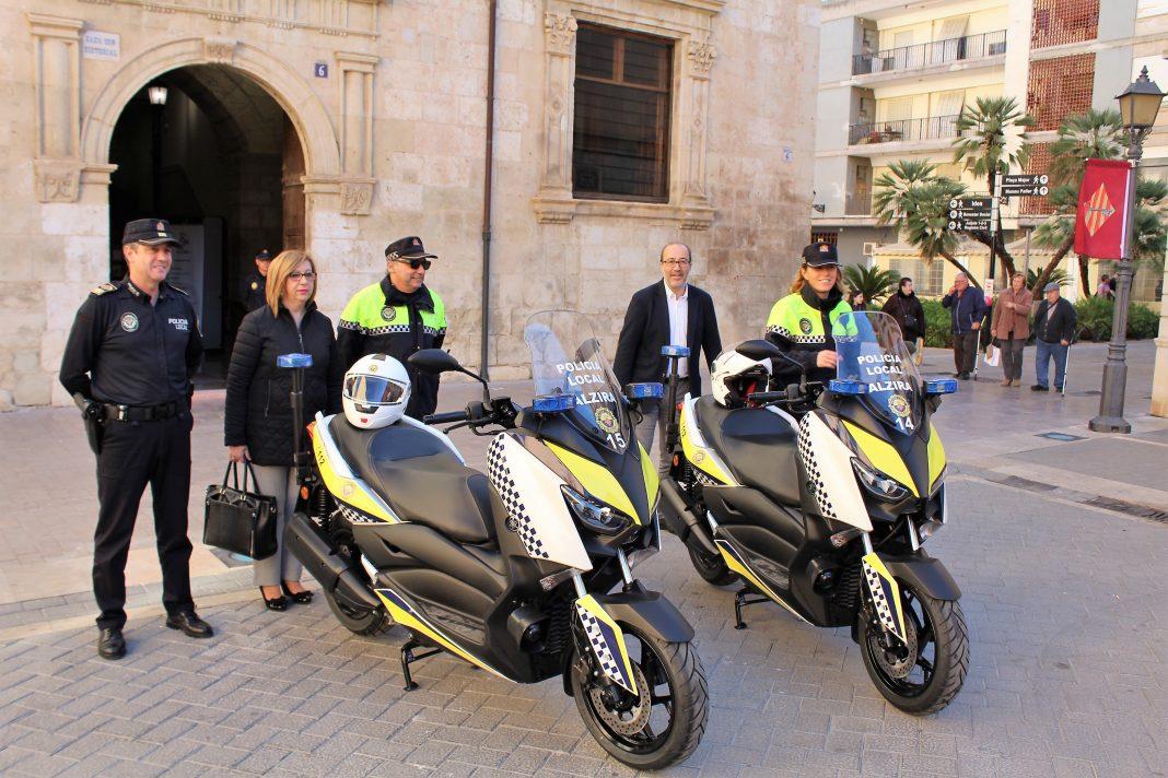 Policia local noves motos - Alzira Radio notícies d'Alzira