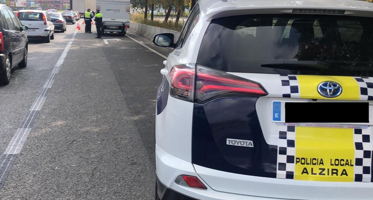 Policia local vehicle 2 - Alzira Radio notícies d'Alzira