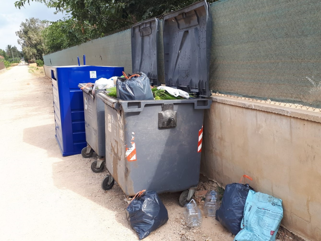 La Barraca contenidors 2 - Alzira Radio notícies d'Alzira