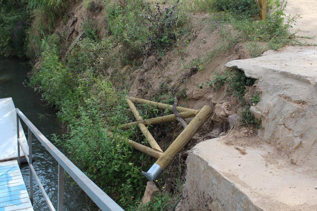 Port piragües vandalisme - Alzira Radio notícies d'Alzira