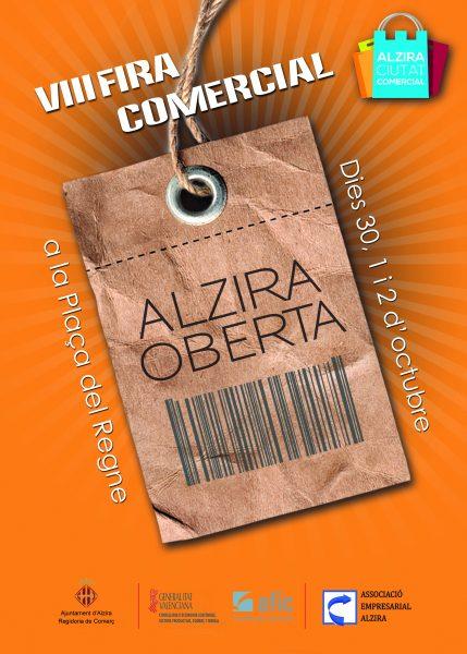 cartel feria 2016 - Alzira Radio notícies d'Alzira