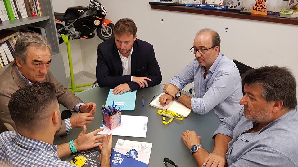 2019 09 18 Reunió Nítida amb diputat dEsports - Alzira Radio notícies d'Alzira