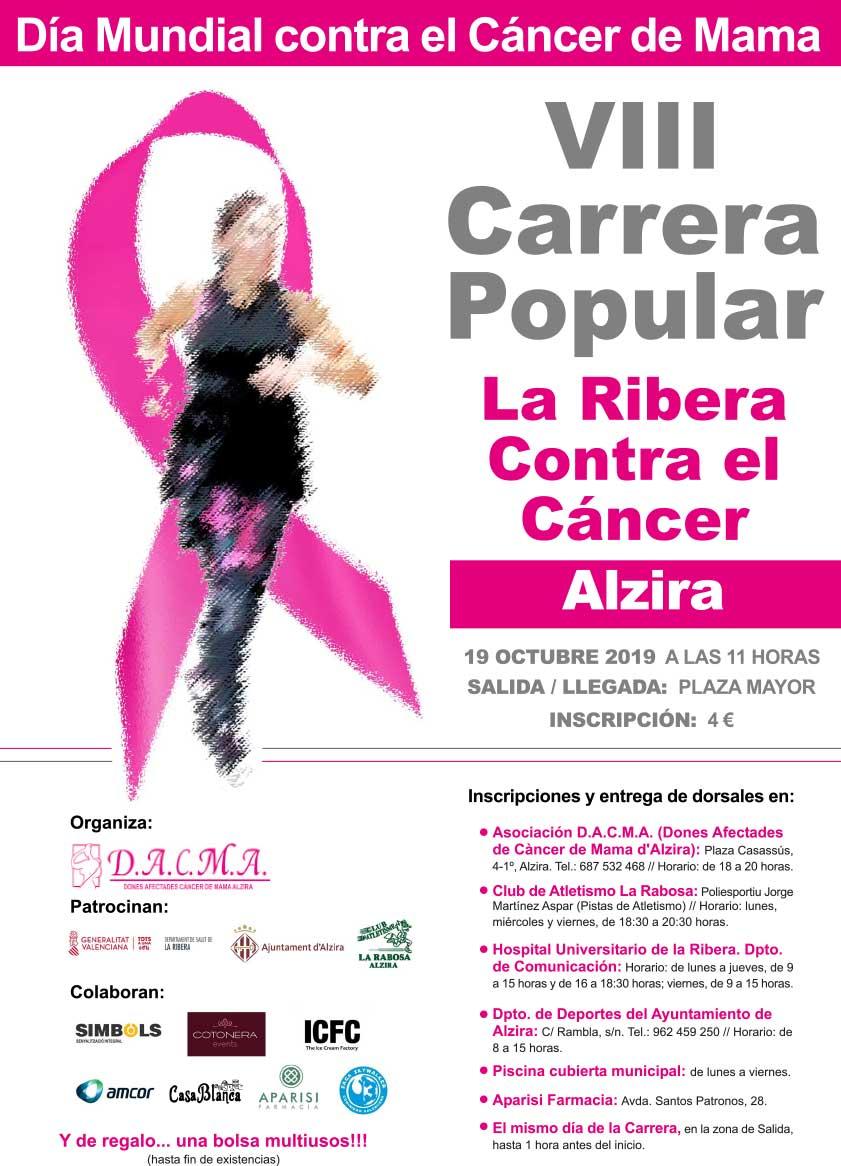 cartel carrera alzira 2019 - Alzira Radio notícies d'Alzira