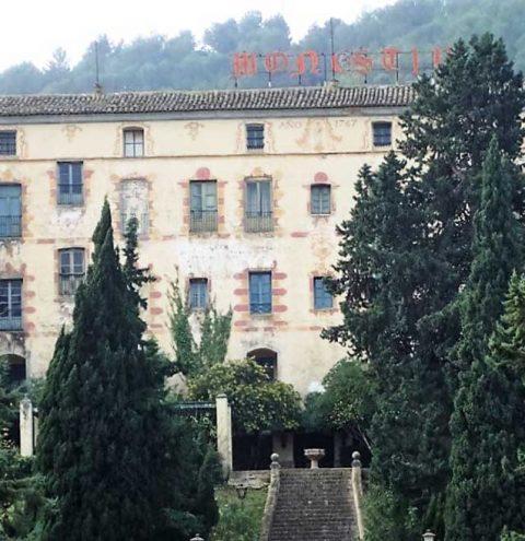 Patrimoni, Conselleria, alcaldes i propietaris del monestir d'Aigües Vives cerquen una solució al deteriorament