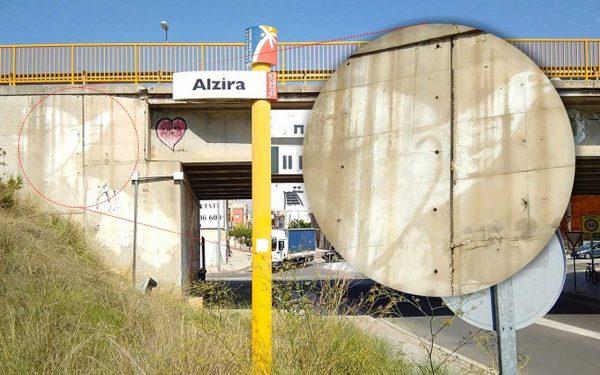 La Ribera En Bici-Ecologistes en acció demana a l'Ajuntament que no s'esborre la coloma de la Pau