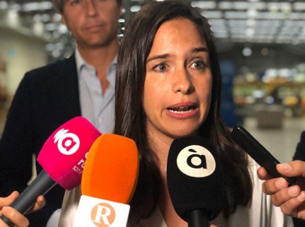 Belén Hoyo demana un gran pacte d'estat relatiu a l'agricultura valenciana en un acte a Alzira