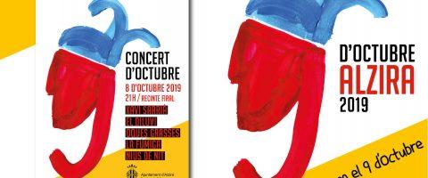 Alzira espera superar l'afluència de l'any passat la nit del concerts del 8 d'octubre