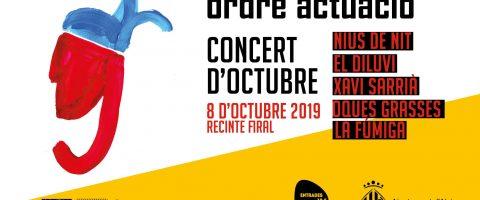 Nius de Nit obri el concert d'octubre i el tancarà La Fúmiga