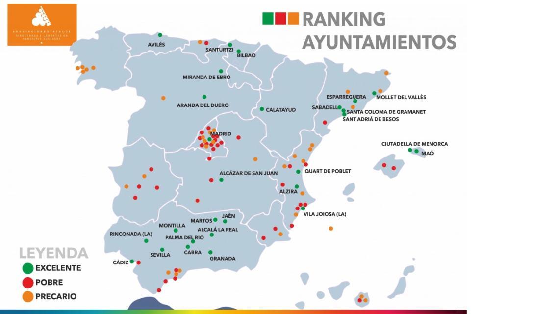 22112019 Ranking Ajuntaments Serveis Socials - Alzira Radio notícies d'Alzira
