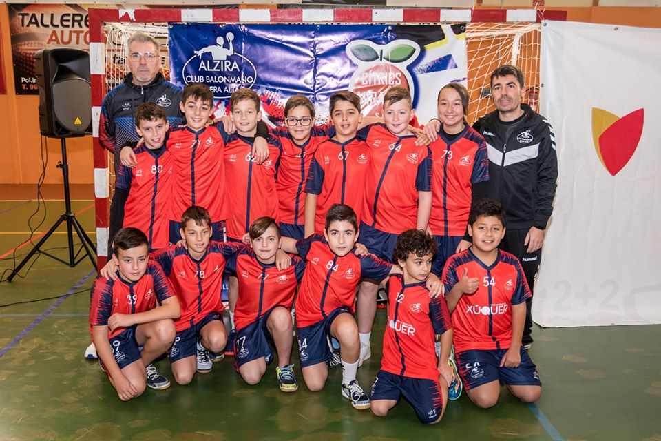 Handbol Aleví - Alzira Radio notícies d'Alzira