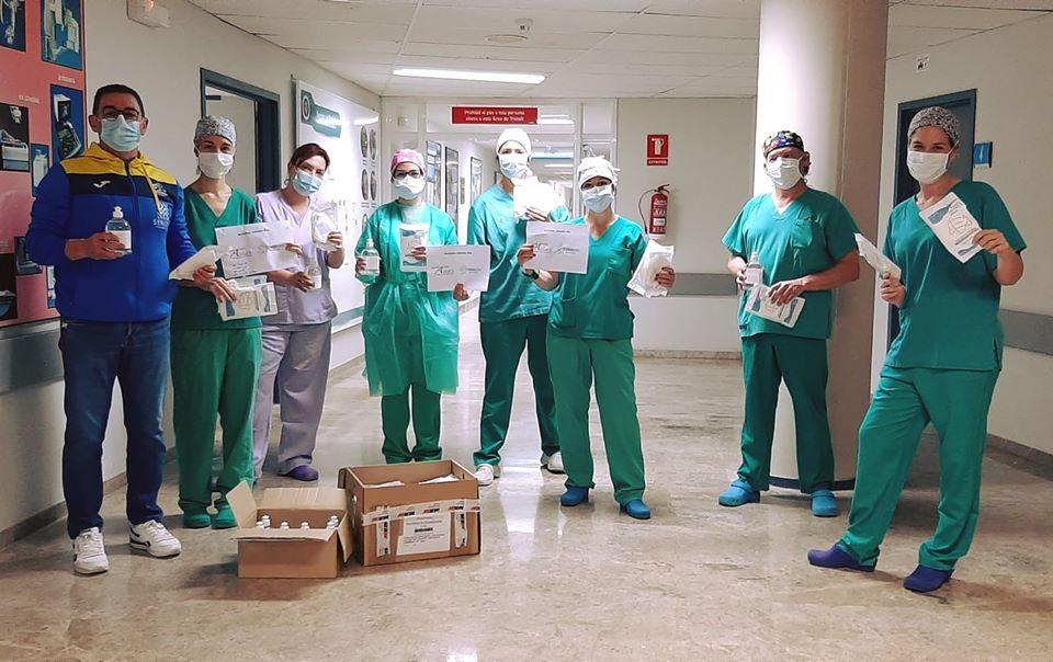 2020 05 14 donacio Trencaones Hospital - Alzira Radio notícies d'Alzira