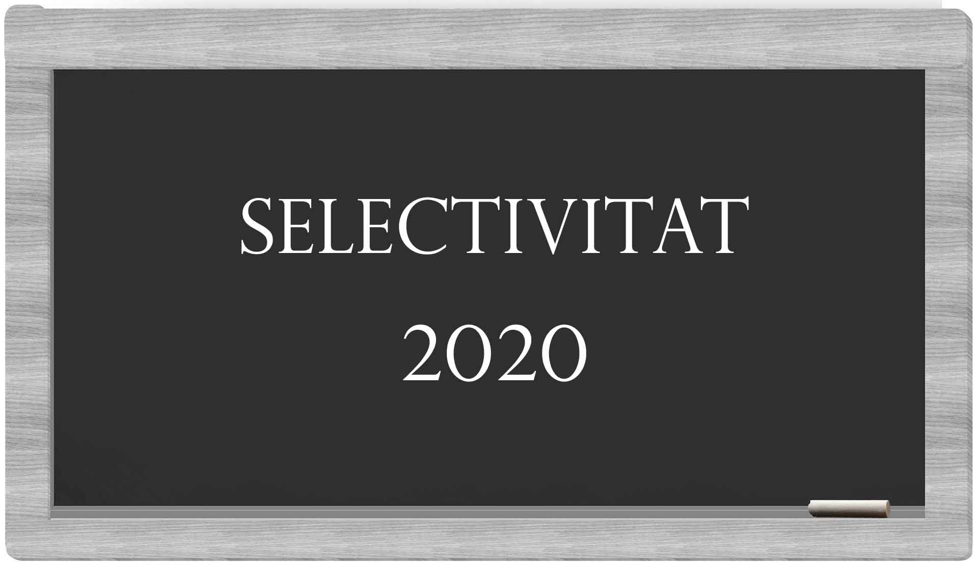 SELECTIVITAT