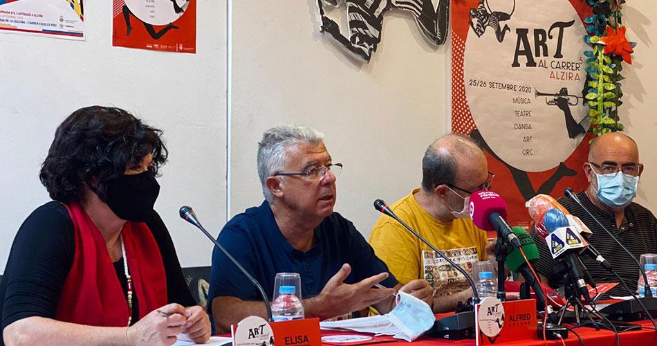 ART AL CARRER1 - Alzira Radio notícies d'Alzira