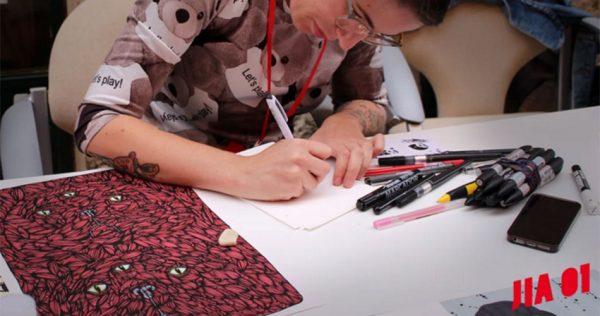 S'obri una exposició d'il·lustradors prèvia al JIA