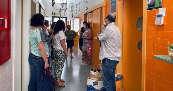 El PP d'Alzira acusa a l'equip de govern de no complir el protocol anticovid en la tornada al col·le