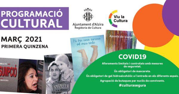"""Alzira recupera la programació cultural este divendres amb l'obra """"Assumpció"""""""