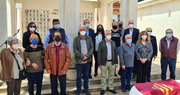 Homenatge a les víctimes d'afussellaments de Paterna
